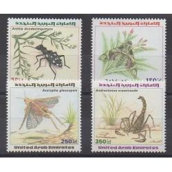 Emirats arabes unis - 1999 - No 595/598 - Insectes
