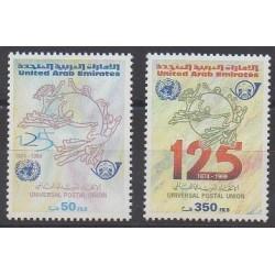 Emirats arabes unis - 1999 - No 601/602 - Service postal