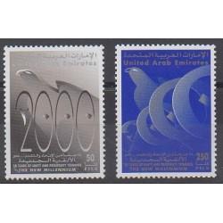 Emirats arabes unis - 1995 - No 617/618