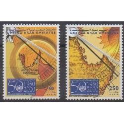Emirats arabes unis - 2000 - No 629/630