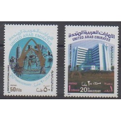 United Arab Emirates - 1989 - Nb 268/269