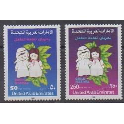United Arab Emirates - 1990 - Nb 288/289 - Childhood