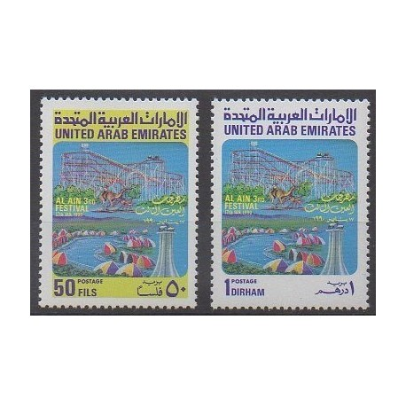 United Arab Emirates - 1990 - Nb 272/273 - Folklore