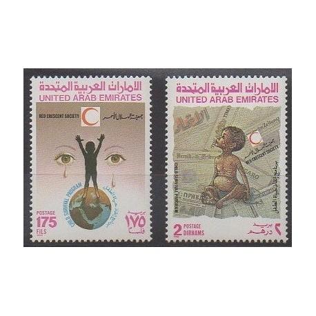 United Arab Emirates - 1990 - Nb 296/297 - Childhood
