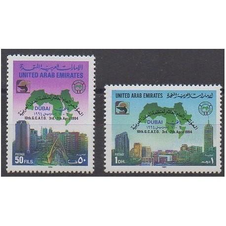United Arab Emirates - 1994 - Nb 428/429