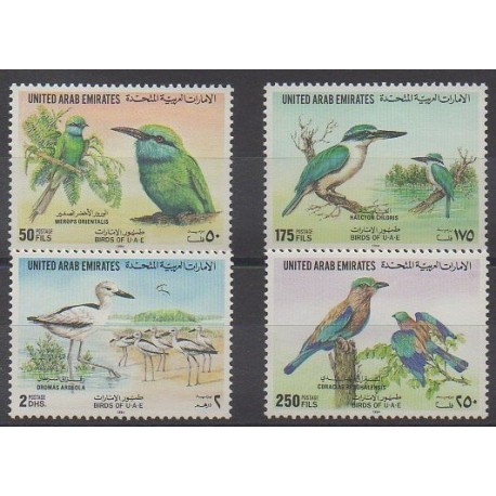 United Arab Emirates - 1994 - Nb 446/449 - Birds