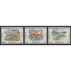 United Arab Emirates - 1996 - Nb 480/482 - Endangered species - WWF - Sea animals