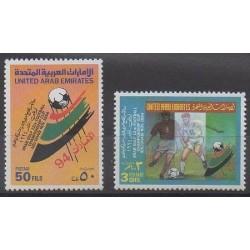 Emirats arabes unis - 1994 - No 444/445 - Football