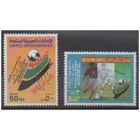 United Arab Emirates - 1994 - Nb 444/445 - Football