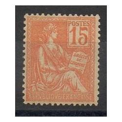 France - Poste - 1900 - Nb 117