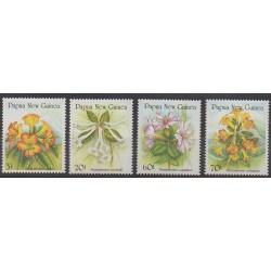 Papua New Guinea - 1989 - Nb 579/582 - Flowers