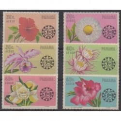 Panama - 1967 - Nb PA374/PA379 - Flowers
