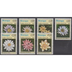 Nicaragua - 1981 - Nb 1155/1160 - PA965 - Flowers