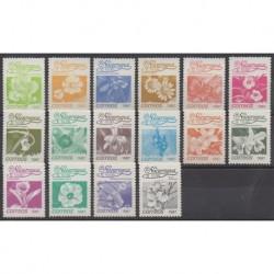 Nicaragua - 1987 - No 1435/1450 - Fleurs