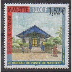 Mayotte - 2001 - No 109 - Service postal