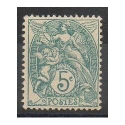 France - Varieties - 1900 - Nb 111c