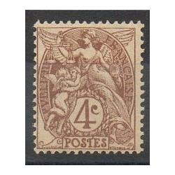 France - Varieties - 1900 - Nb 110b