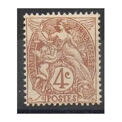 France - Varieties - 1900 - Nb 110a