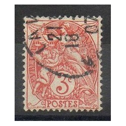 France - Varieties - 1900 - Nb 109b - Used