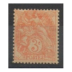 France - Varieties - 1900 - Nb 109e
