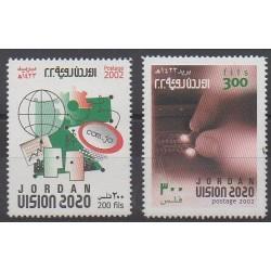 Jordan - 2002 - Nb 1601/1602