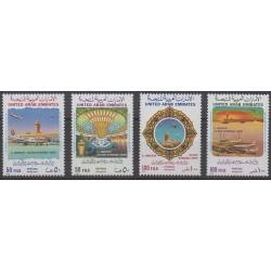 United Arab Emirates - 1988 - Nb 232/235 - Planes