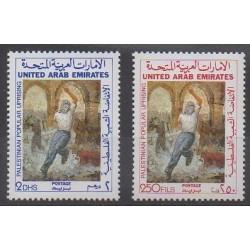 United Arab Emirates - 1988 - Nb 242/243