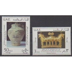 United Arab Emirates - 1988 - Nb 253/254 - Art