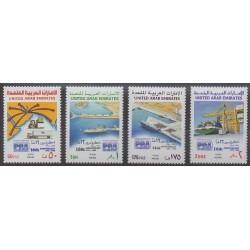 United Arab Emirates - 1988 - Nb 246/249 - Boats