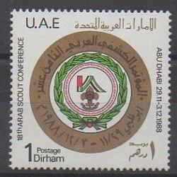 United Arab Emirates - 1988 - Nb 252 - Scouts
