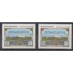 United Arab Emirates - 1989 - Nb 258/259 - Planes