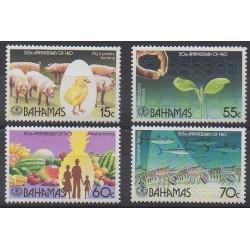 Bahamas - 1995 - Nb 860/863