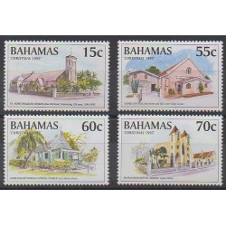 Bahamas - 1995 - No 868/871 - Églises