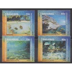 Bahamas - 1999 - No 1013/1016 - Environnement