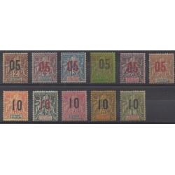 Anjouan - 1912 - Nb 20/30