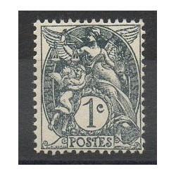 France - Varieties - 1900 - Nb 107a