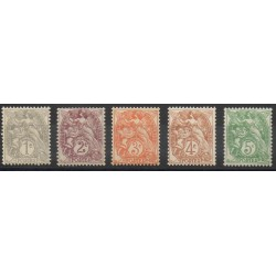 France - Poste - 1900 - No 107/111