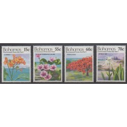 Bahamas - 1993 - No 799/802 - Environnement - Fleurs
