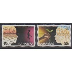Bahamas - 1992 - No 777/778 - Santé ou Croix-Rouge