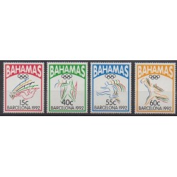 Bahamas - 1992 - Nb 773/776 - Summer Olympics
