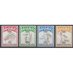 Bahamas - 1992 - No 773/776 - Jeux Olympiques d'été