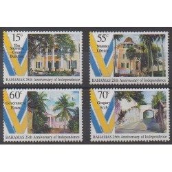 Bahamas - 1998 - Nb 947/950 - Various Historics Themes