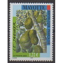 Mayotte - 2002 - Nb 138 - Fruits or vegetables