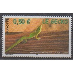 Mayotte - 2003 - Nb 144 - Reptils
