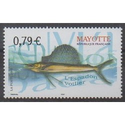 Mayotte - 2003 - Nb 143 - Sea animals