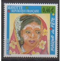 Mayotte - 2003 - No 142 - Masques ou carnaval