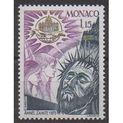 Monaco - 1975 - Nb 1015 - Religion