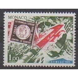 Monaco - 1975 - Nb 1014 - Health