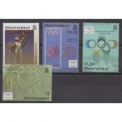 Montserrat - 2004 - No 1122/1125 - Jeux Olympiques d'été