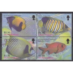 Montserrat - 2004 - Nb 1131/1134 - Sea life